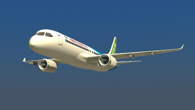 给复合材料大飞机结构的设计和制备带来困难,因此,自主研发大型复合材
